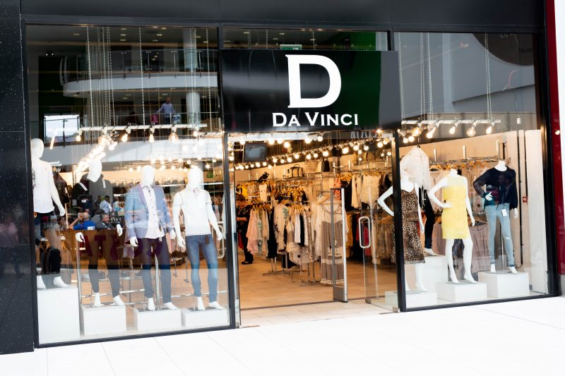 The DaVinci store in The Mall Blackburn