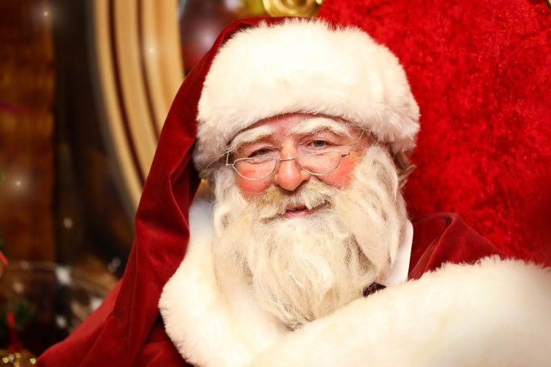 Santa is getting ready to greet little ones in The Mall Blackburn