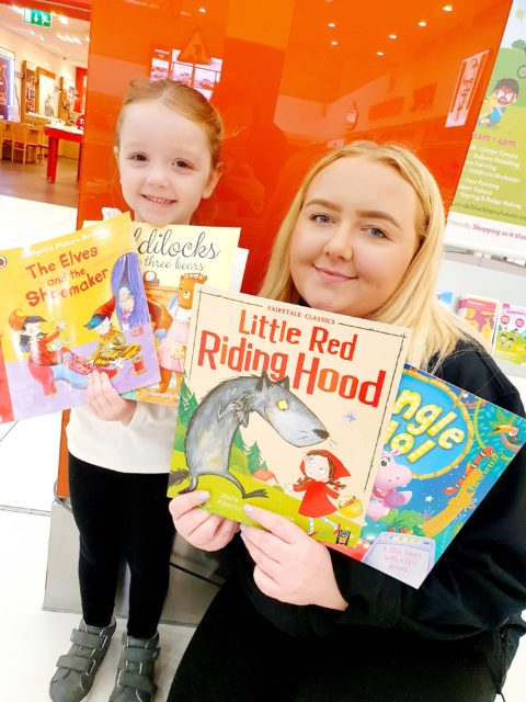 World Book Day event at the Mall Blackburn