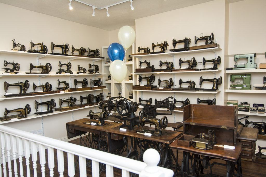 The Sewing Machine museum at Hobkirks in Blackburn