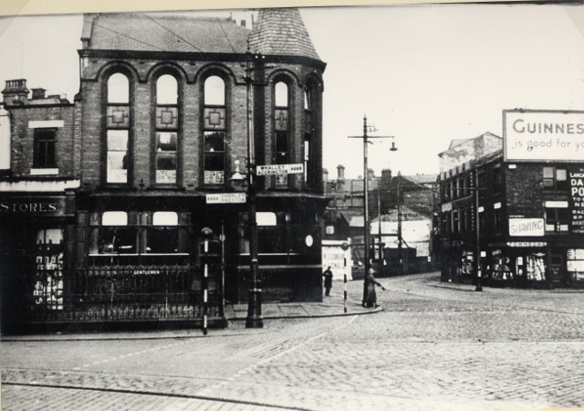 """Holme Street in BlackburnThe picture of Holme Street is from the BwD CottonTown Digitisation Project."""""""