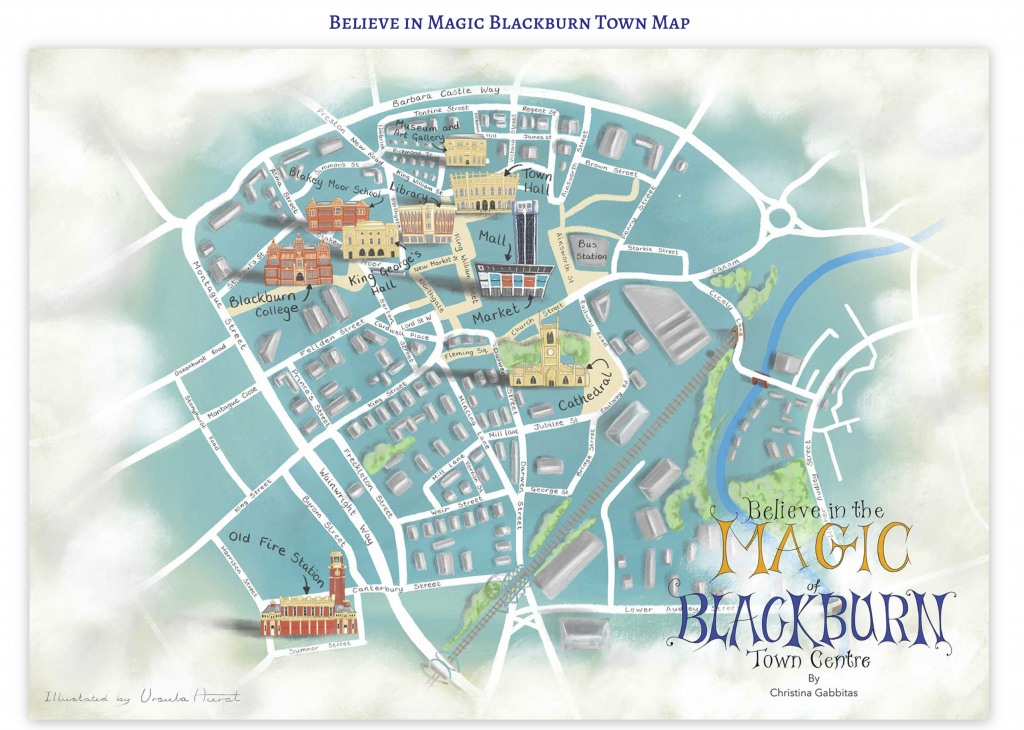 Can you find all 10 coins hidden in Blackburn town centre?