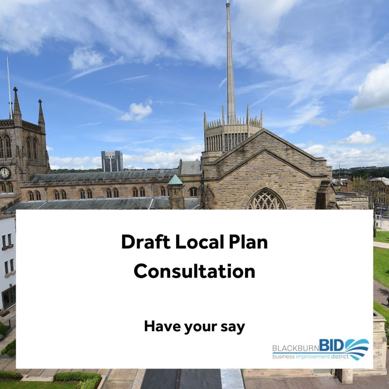 Draft Local Plan Consultation inviting people to have their say
