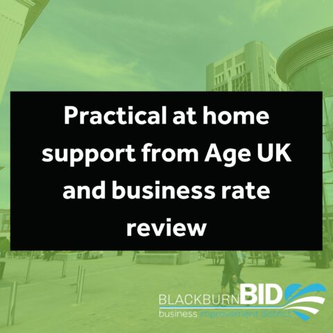 Practical at home support from Age UK and business rate review