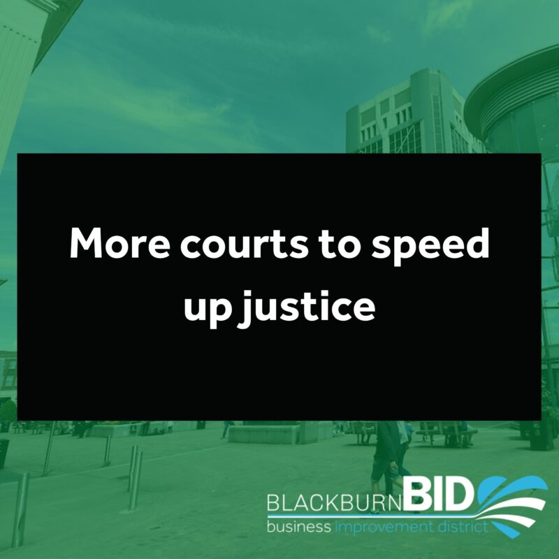 More courts to speed up justice