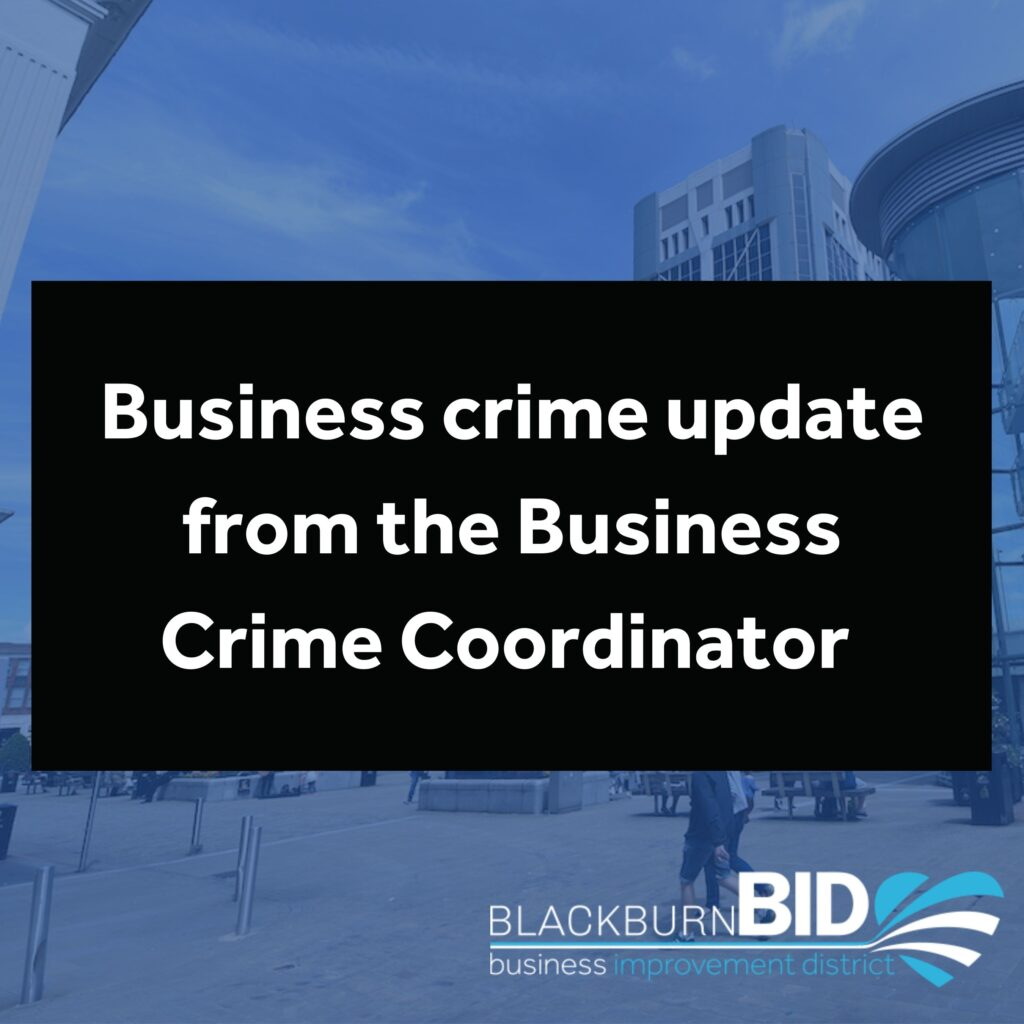 Crime update from the Business Crime Coordinator regarding the number of incidents involving the breaking in of commercial premises through emergency exit doors at night.