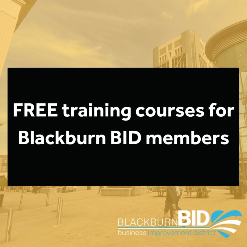 FREE training courses from Blackburn with Darwen Adult Learning