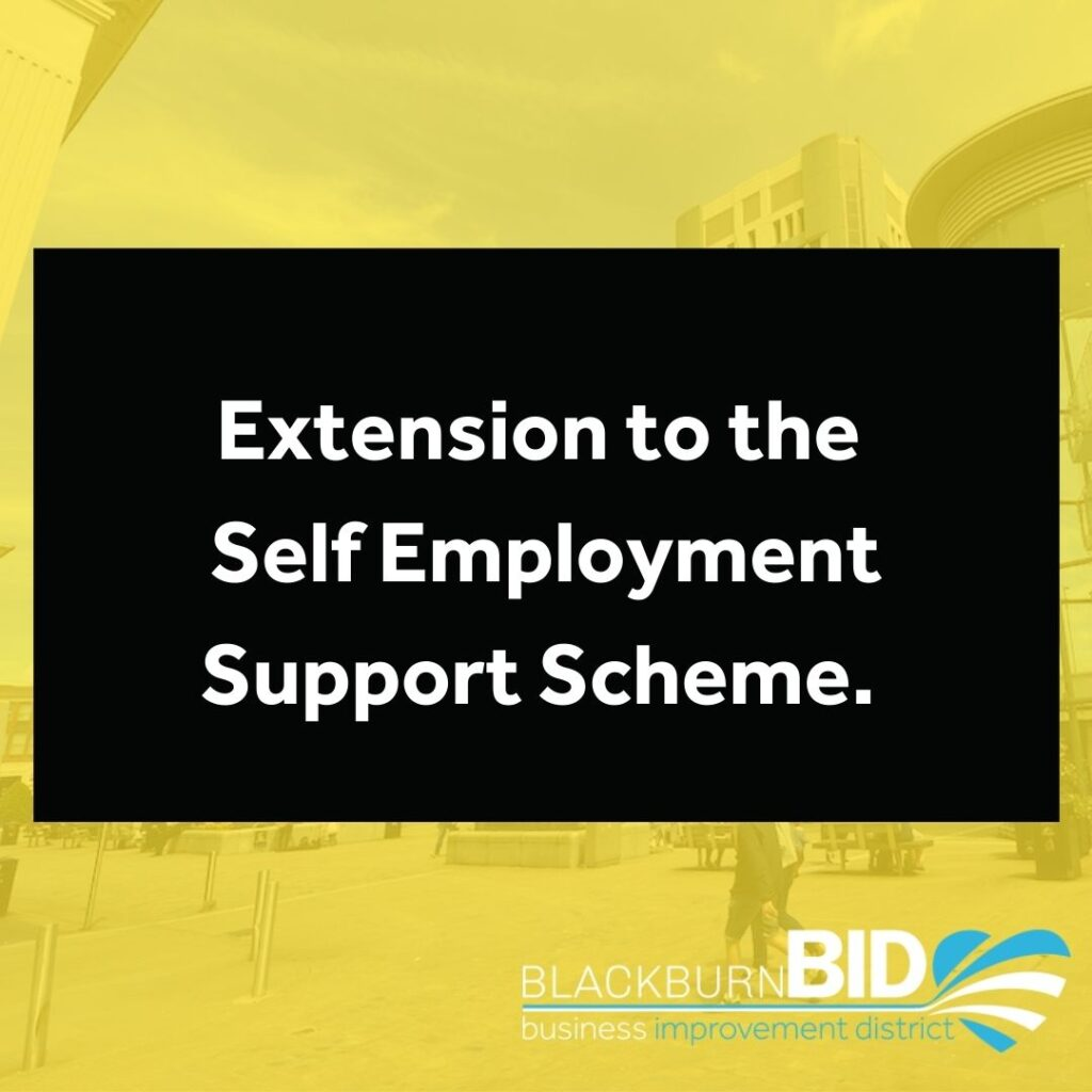 extension to the Self Employment Support Scheme.