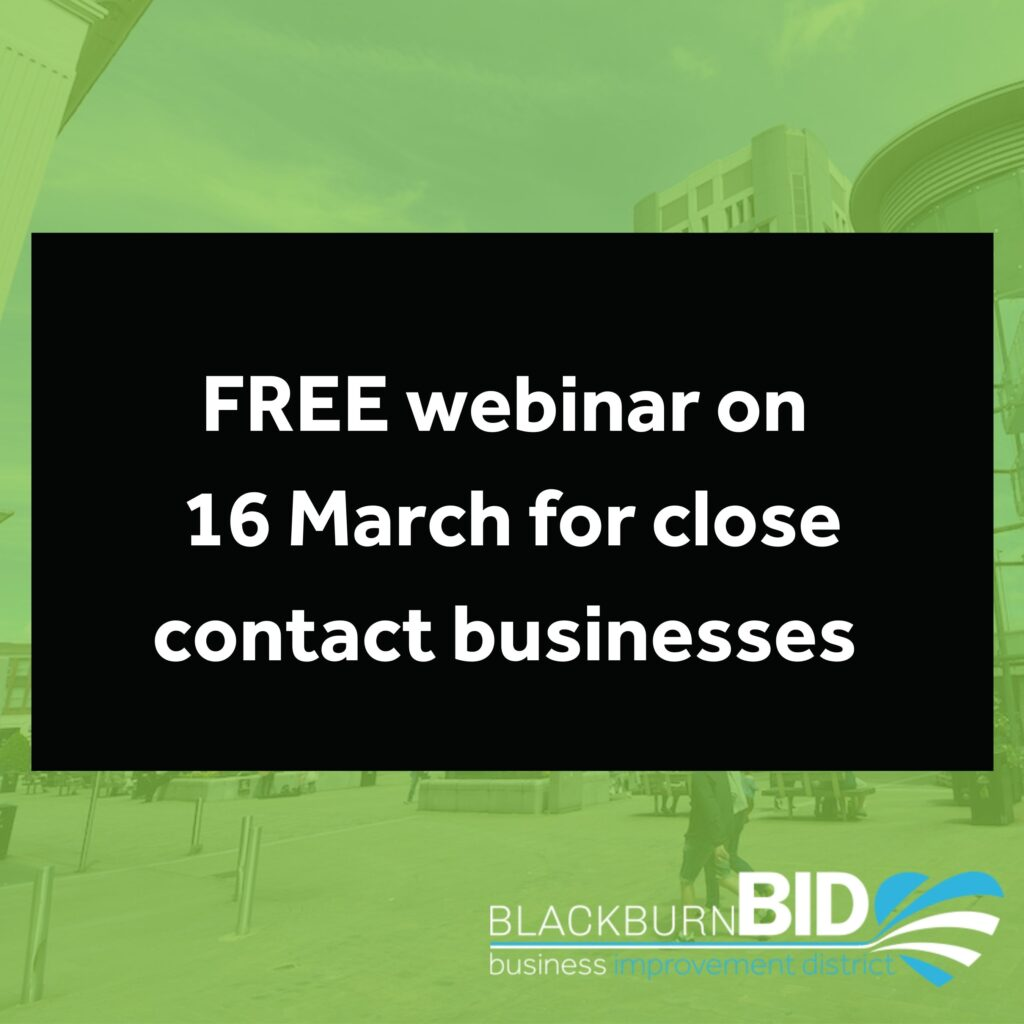 Close contact businesses are invited to a COVID-19 safety webinar on 16 March to support them with their reopening.