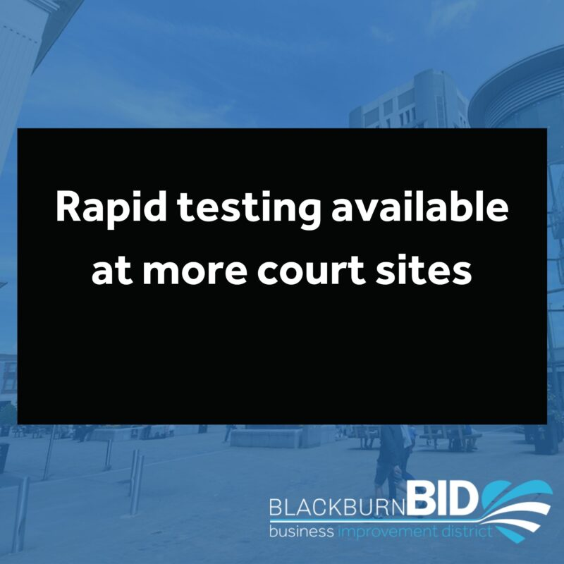 Rapid testing is now available at four more court sites. Find out more information here...