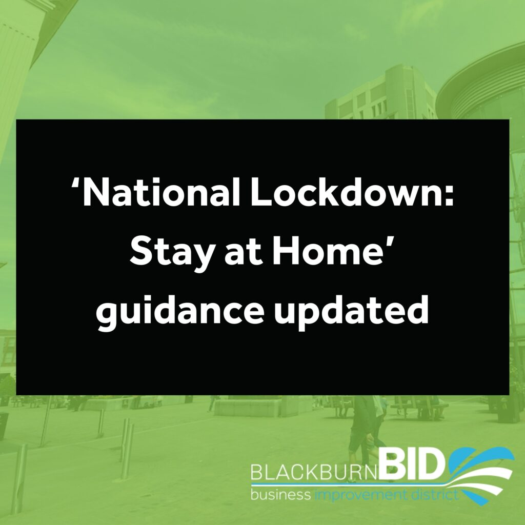 The Government has updated the 'National Lockdown: Stay at Home' Guidance to confirm how the rules will change on 29 March 2021 (Part two of Step 1 on the Roadmap out of lockdown).