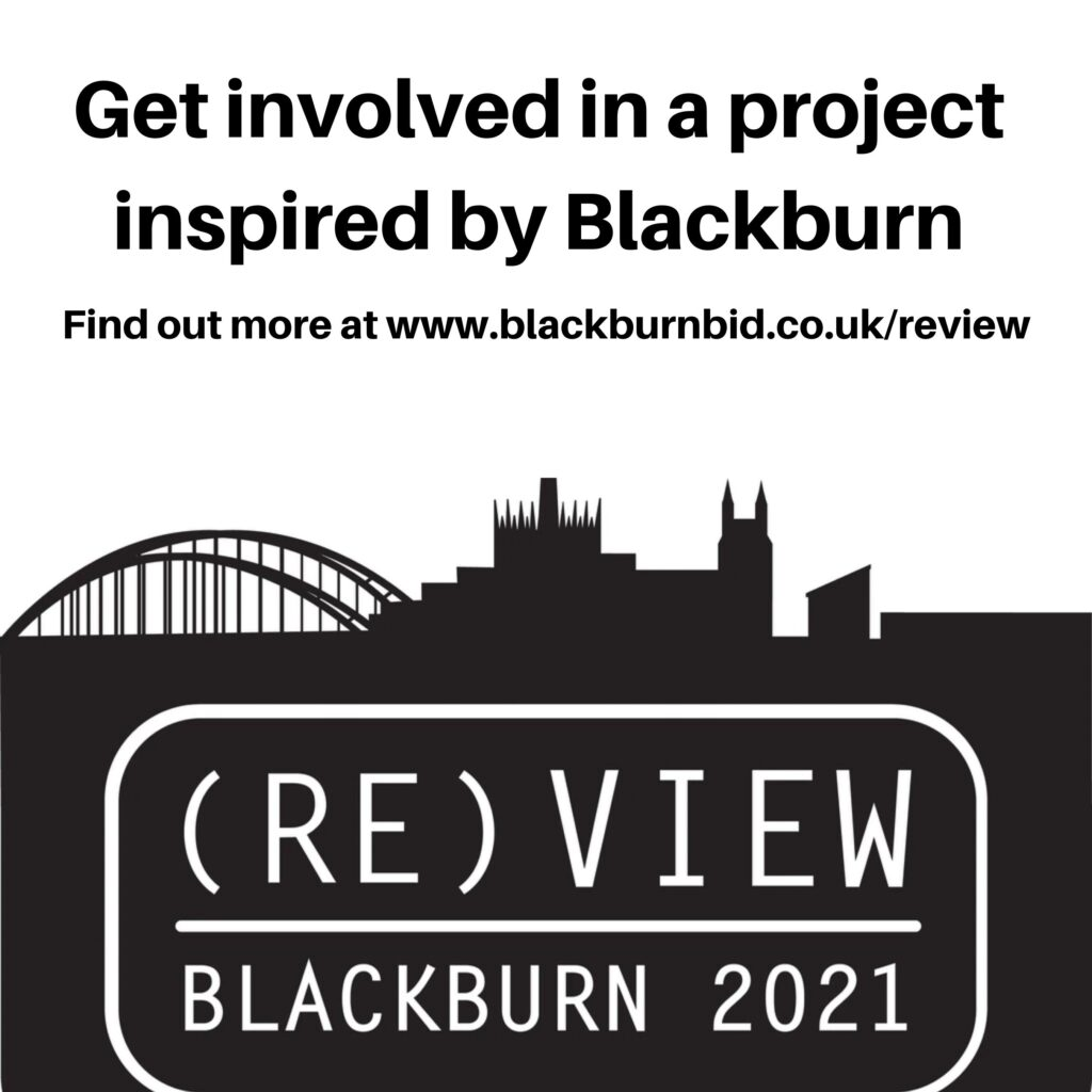 Show your support an art project by five up and coming artists, inspired by Blackburn