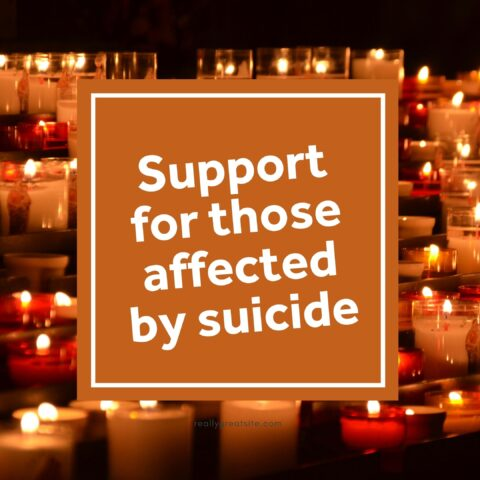 Services available for those affected by suicide