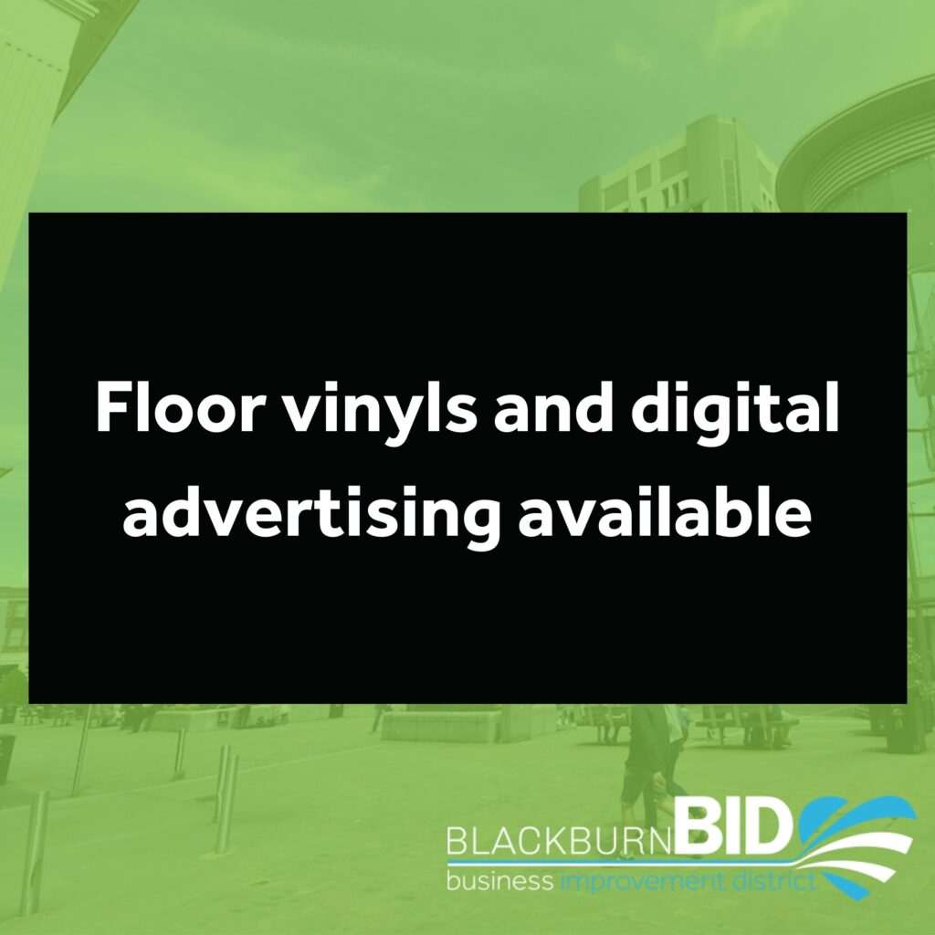 Covid-safety floor vinyls and digital advertising available