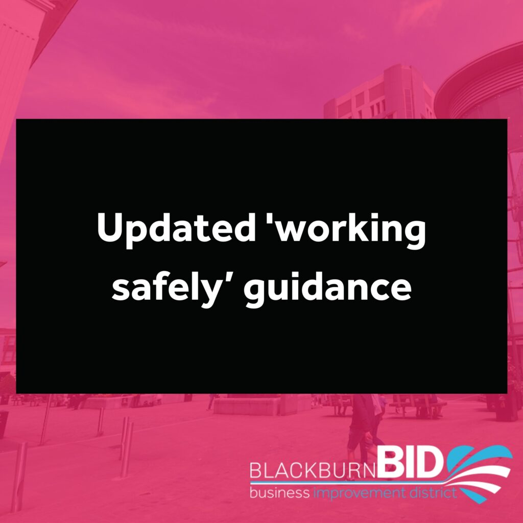 The Government has updated it's 'Working Safely' guidance in readiness for Step 2 of the Roadmap out of lockdown. The guidance is sector by sector but includes information about ventilation and test and trace requirements.