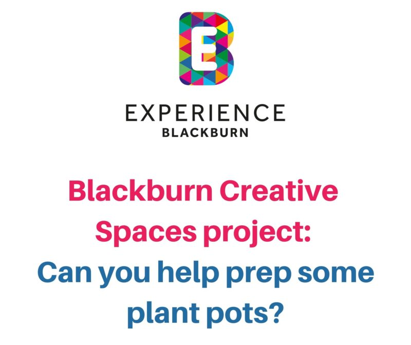 Creative Spaces project: can you help prep some plant pots?