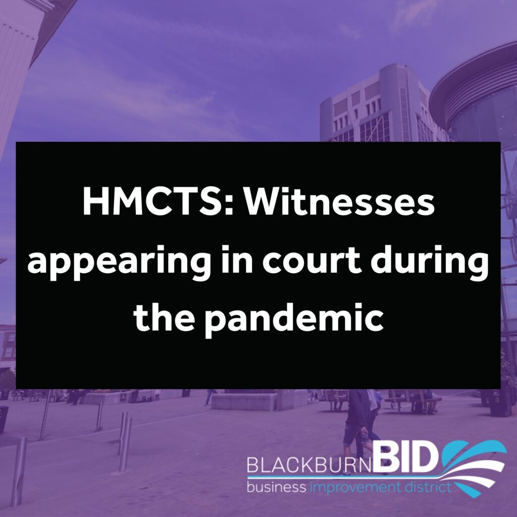 HMCTS: Witnesses appearing in court during the pandemic