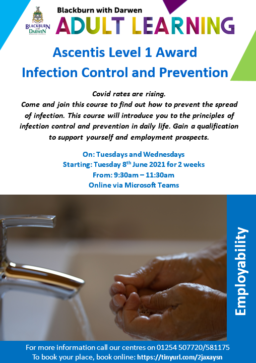 Free infection control training course