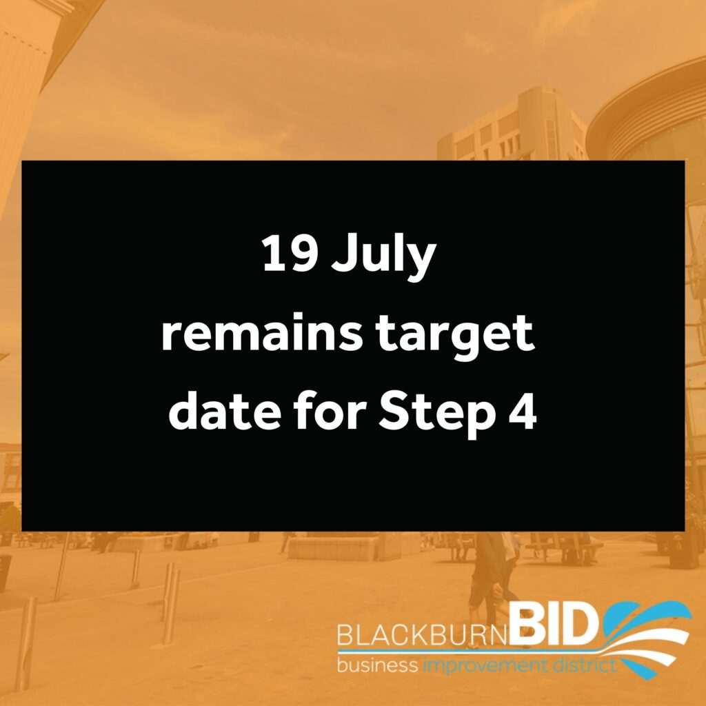 BID July 19 remains target date for step 4