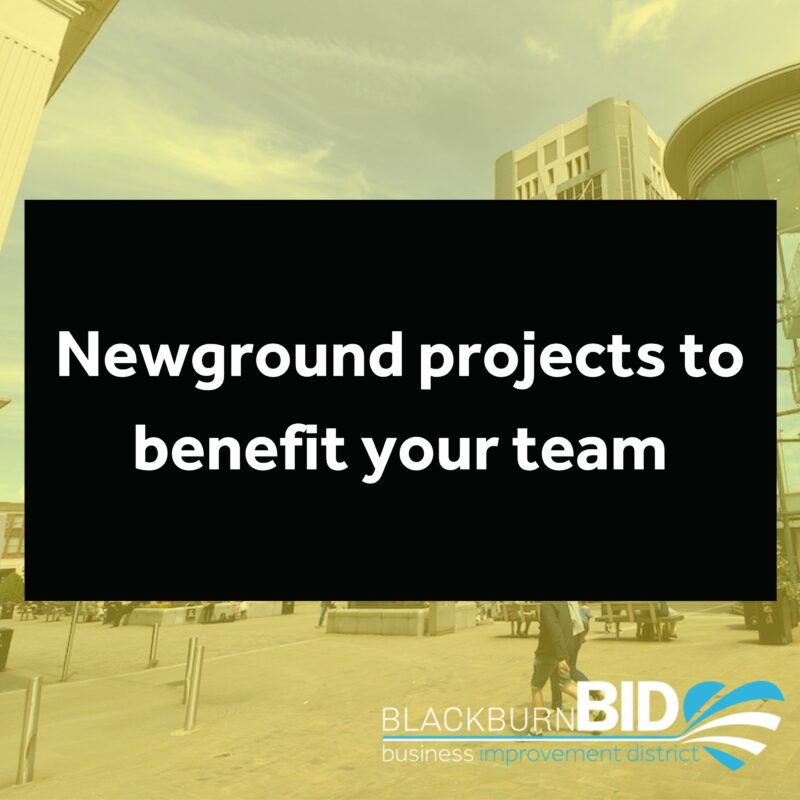 Newground projects to benefit your team