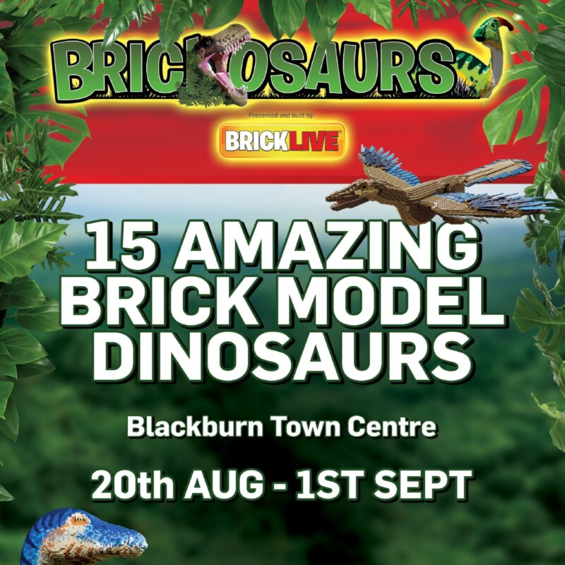 Brickburn is back ... and this time it's dangerous. Can you help house a dinosaur?