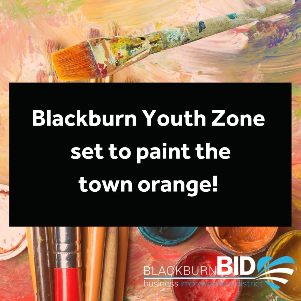 Blackburn Youth Zone set to paint the town orange