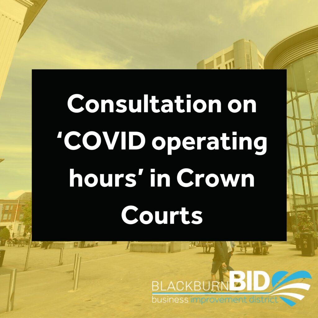 Consultation on Covid operating hours in Crown Courts