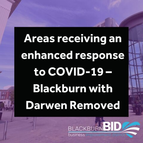 Areas receiving enhanced COVID-19 response removed