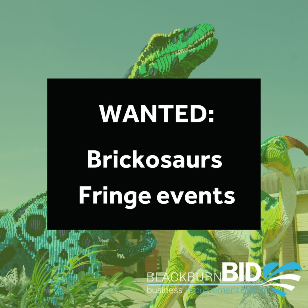 Get involved in the Brickosaurs Trial this August