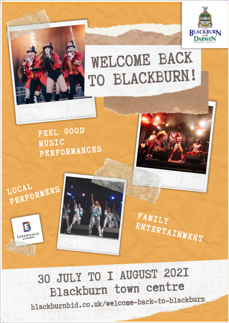 Welcome Back to Blackburn shows