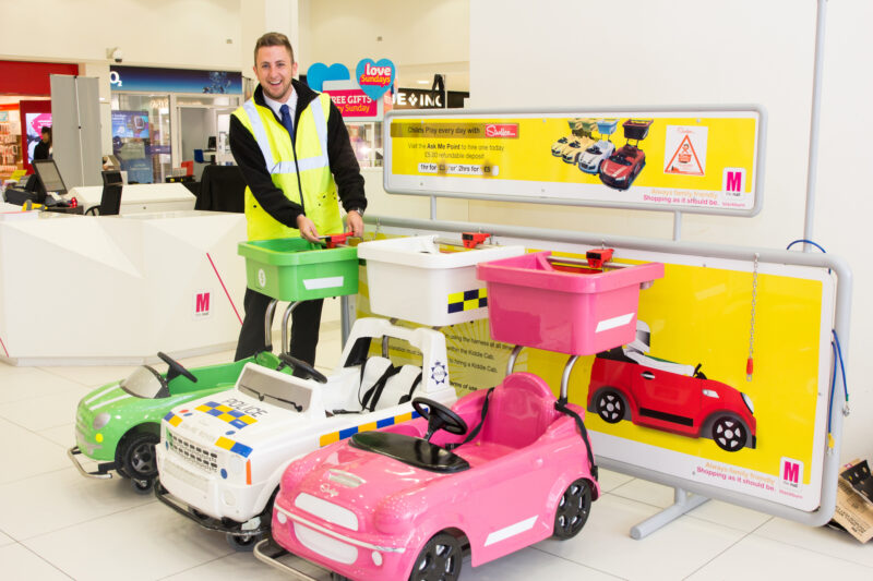 Ask Me Point returns to The Mall Blackburn