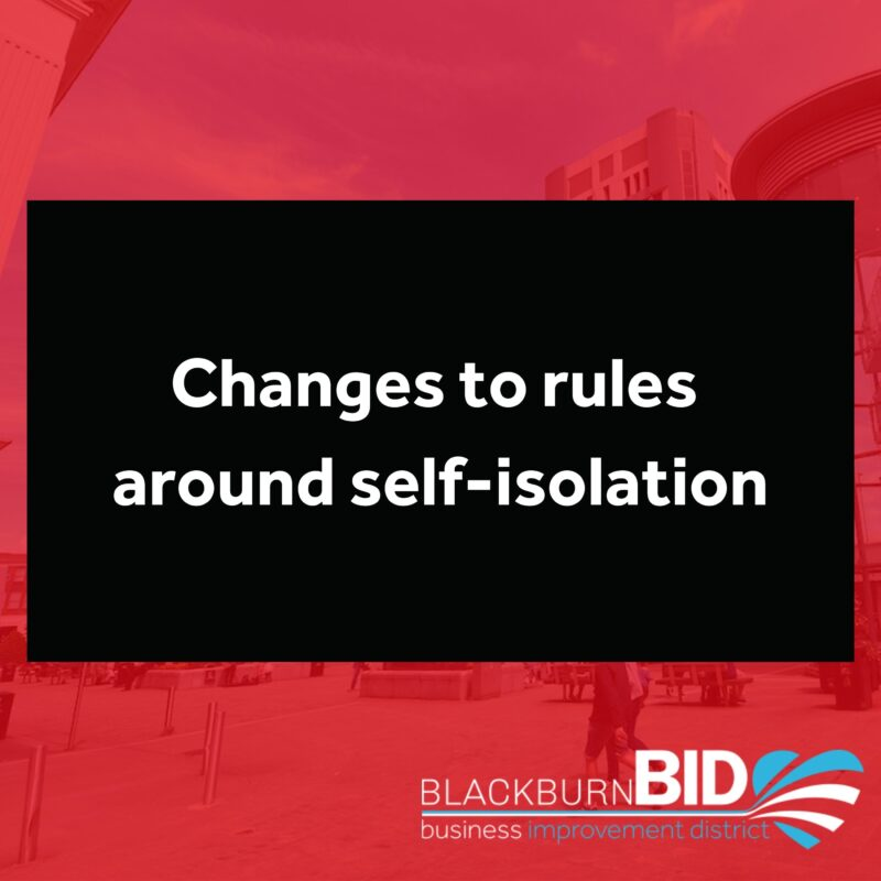 changes to self isolation