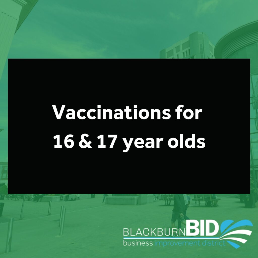 All young people aged 16 to 17 in England are to be offered a first dose of a COVID-19 vaccine by Monday 23 August to give them the vital protection provided by the vaccine before returning to school in September, the Health and Social Secretary Sajid Javid has announced.