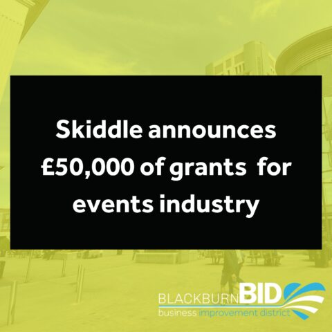 £50,000 of grants available to kickstart the events industry