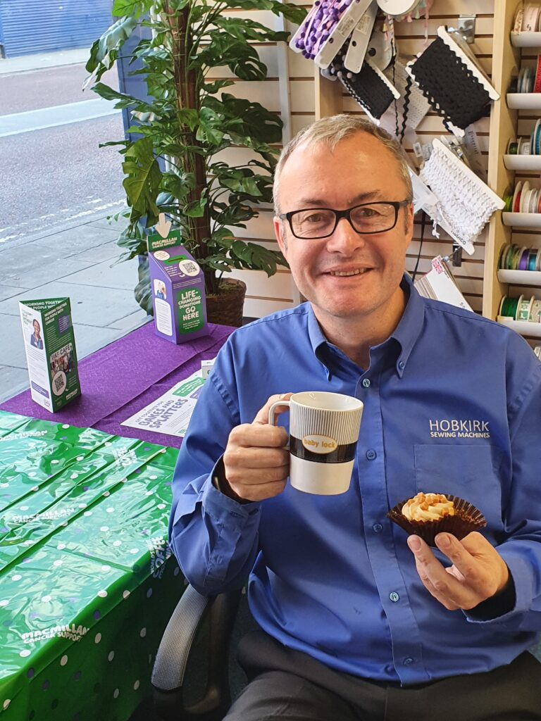 Hobkirks Sewing Machines will be hosting their very own Macmillan Week to help raise money for charity. The Darwen Street shop – an Aladdin's cave of sewing items – will have the kettle on and treats at the ready from Monday 20 to Saturday 25 September.