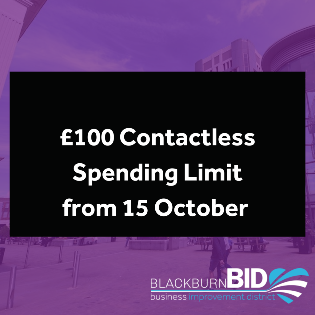 contactless limit £100